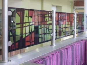 cafe restorant cam baskı