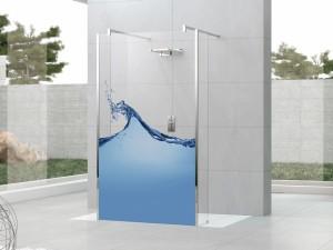 duşakabin cam baskı